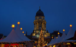 Berlin christmas market Gendarmenmarkt Royalty Free Stock Images