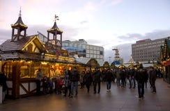Berlin Christmas-markt Stock Fotografie