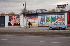 berlin ściana Zdjęcia Royalty Free