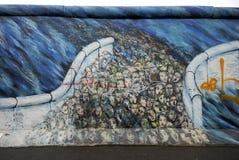 berlin ściana Obraz Stock
