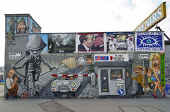berlin ściana Germany Obrazy Royalty Free