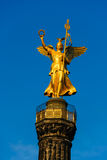 Berlin city center Victory column Stock Image