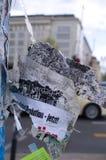 Berlin City com indicação política Imagem de Stock