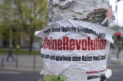 Berlin City com indicação política Fotografia de Stock