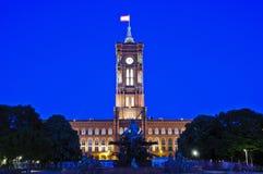 Berlin city hall Royalty Free Stock Photo