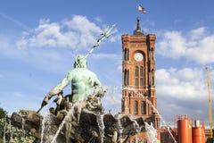 Berlin City Hall Stock Photo