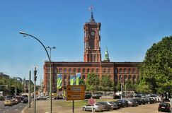 Berlin City Hall, Germany royalty free stock photo