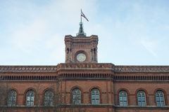 Berlin city hall Stock Photos