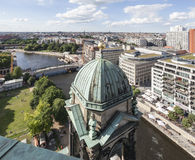 Berlin City Historical Buildings Royalty Free Stock Photography