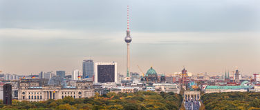 Berlin City skyline Royalty Free Stock Photo