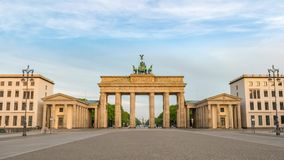 Berlin Germany time lapse stock footage