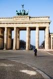 Berlin. City symbol Brandenburg gate, Germany. Stock Photo