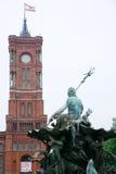 berlin cityhall Royaltyfri Fotografi