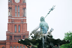 berlin cityhall Royaltyfri Bild