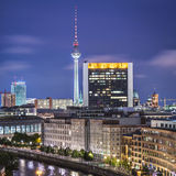Berlin Cityscape Royalty Free Stock Photography
