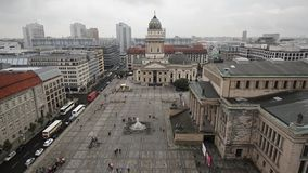 Berlin Cityscape stock footage