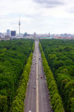Berlin Cityscape Images stock