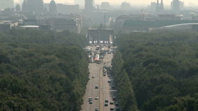 Berlin Cityscape aéreo metrajes