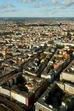 Berlin Cityscape Aerial Stock Photography