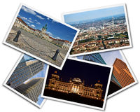 Berlin Collage stock photos