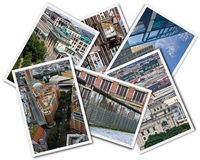 Berlin Collage Stock Images