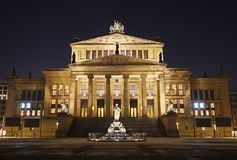 Berlin Concert Hall Foto de Stock Royalty Free