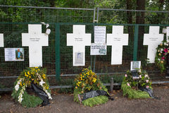 Berlin Cross Memorial imagens de stock