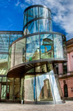 Berlin day. Urban photography city of Berlin. Sony Center Royalty Free Stock Images