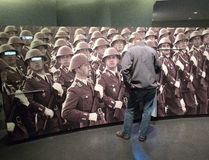 berlin ddr museum Arkivbilder