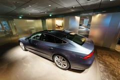 Mid-size luxury car Audi A7 Sportback 55 TFSI quattro. Royalty Free Stock Image