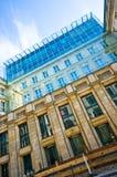 Berlin Deutsche Bank byggnad arkivbild