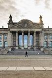 BERLIN, DEUTSCHLAND - Apirl 17: Ansicht von Reichstag-Haube auf Apirl 17, Stockfoto