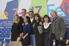 Tim Robbins, Wong Kar Wai Lizenzfreies Stockfoto