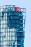BERLIN, DEUTSCHLAND - 22. JUNI 2016: Hauptsitze von Deutsche Bahn stockbild