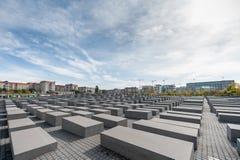 BERLIN, DEUTSCHLAND - 26. SEPTEMBER 2012: Denkmal zu den ermordeten Juden von Europa, Berlin, Deutschland Lizenzfreies Stockfoto