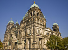 Berlin Dom. In Germany with blue skz in the background Royalty Free Stock Photography