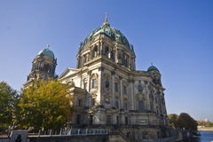 Berlin Dom. In Germany on blue sky background Royalty Free Stock Photo