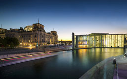 Berlin Ufer Royalty Free Stock Images