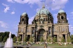 berlin dom germany Arkivbild
