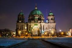 Berlin Dom. By Night. Germany Stock Photos