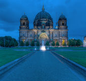 Berlin Dom At Night Stock Images