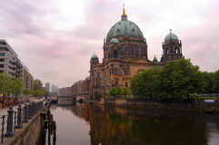 Berlin Dome. Famous church in berlin stock photos