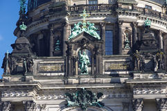 Berlin Dom facade, close-up Stock Images