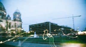 berlin dome dusk Στοκ φωτογραφίες με δικαίωμα ελεύθερης χρήσης