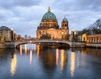 Berlin Dome Germany Stock Photo