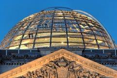 berlin dome reichstag Στοκ Φωτογραφία