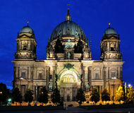 Berlin Dome. Shot in the evening June 2014 royalty free stock photography