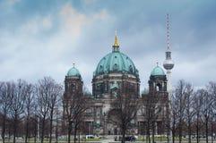 Berlin domkyrka Royaltyfri Fotografi