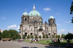 Berlin domkyrka (BerlinerDom) royaltyfri bild