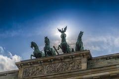 Berlin door Brandenburg Stock Photo